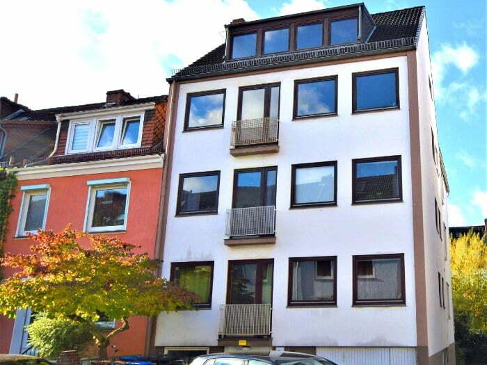 Vermittlung einer Dachgeschoßwohnung in Bremen-Findorff